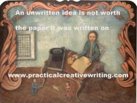 man-at-writing-table