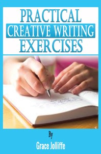practical creative writing book cover illustrating an article about building a website