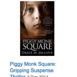 ALT - book cover of Piggy Monk Square by Grace Jolliffe in an article called - choosing a cover designer