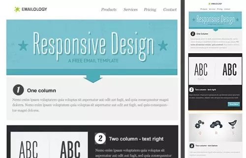 Free Responsive Email Templates Reply For Thank You - Responsive transactional email template