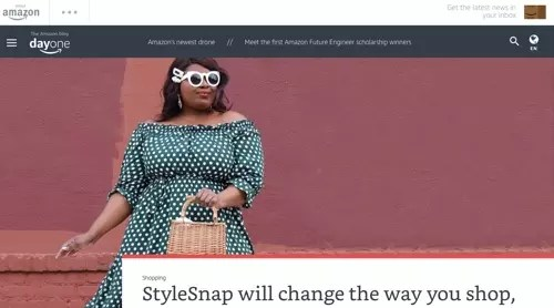 The Amazon Blog - StyleSnap