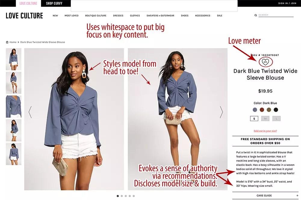Love Culture site branding