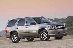 2010 Chevrolet Tahoe Hybrid Courtesy General Motors