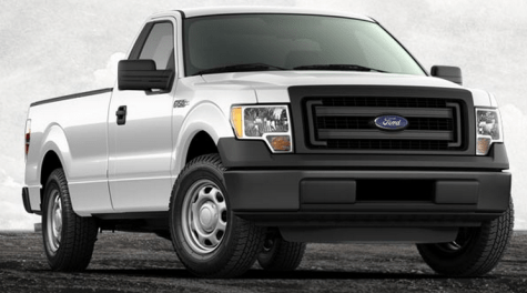ford f 150 pick up truck 2013