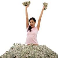 greedy, materialistic women