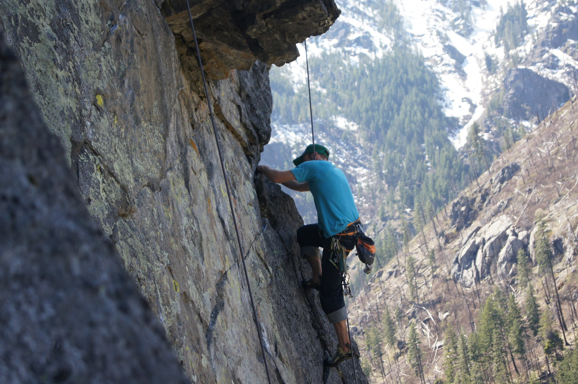 12 reasons you should never date a rock climber