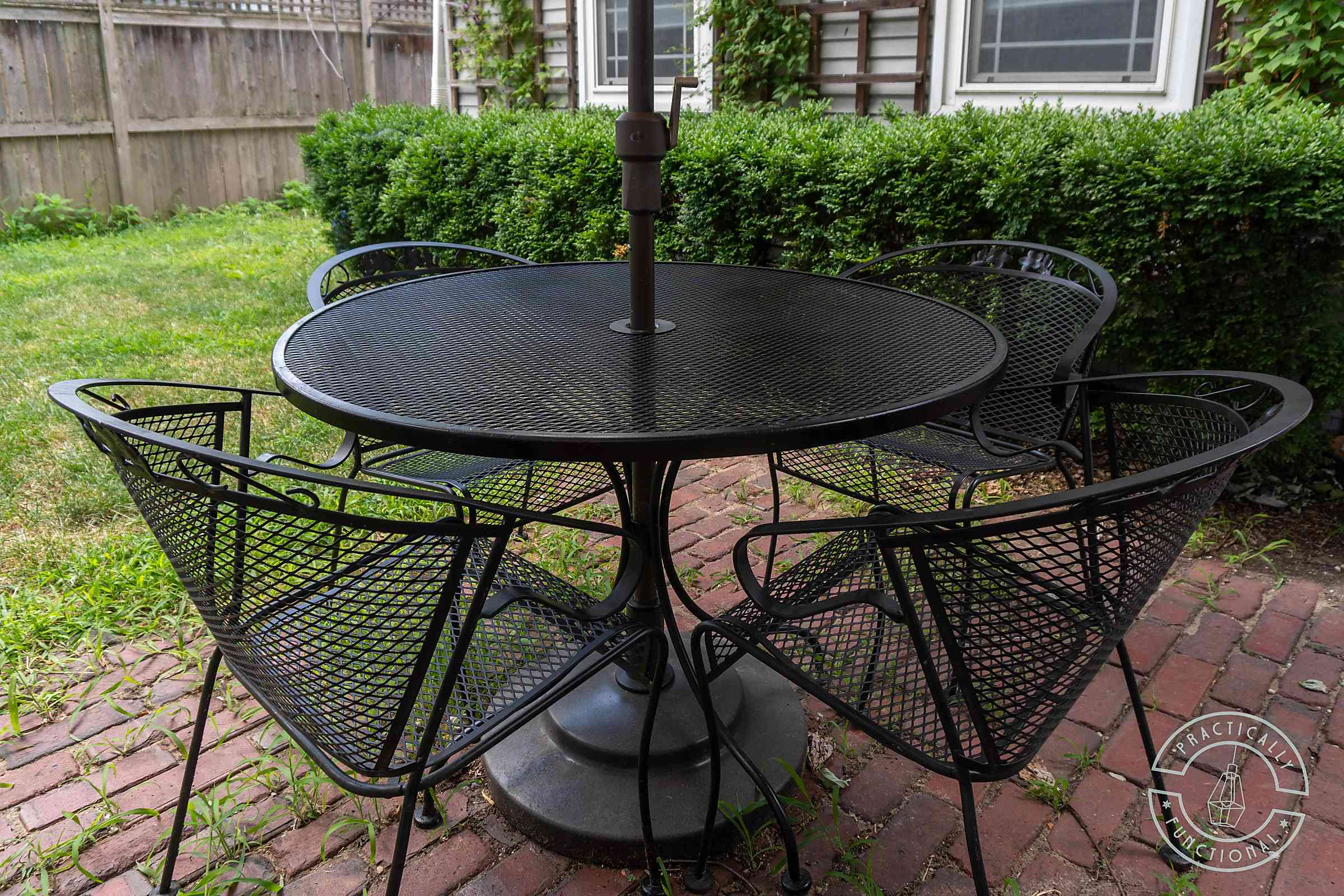 how to spray paint patio furniture