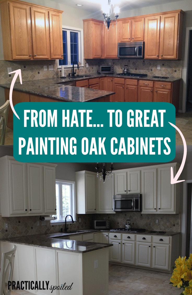 Painting Wood Kitchen Cabinets Before And After ...