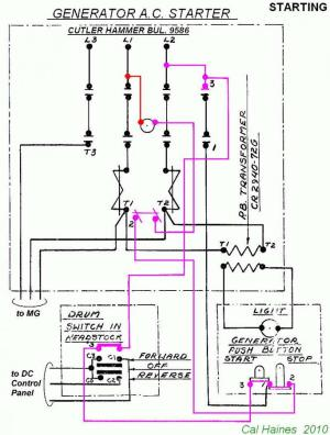 10EE MG Starter Circuit with CutlerHammer Contactor  Revised