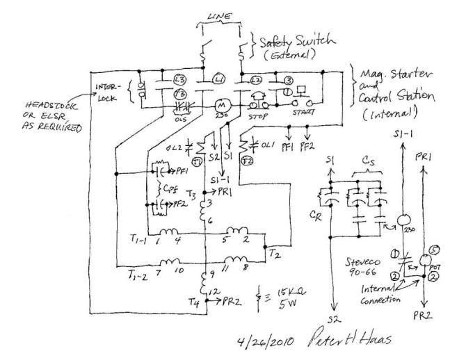 single phase reversing motor starter wiring diagram jeep