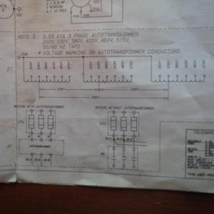 Hardinge TFB: do I have to feed it 575V or can I bypass the ining transformer?