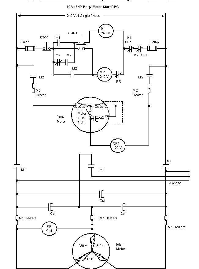 Wiring Diagram Single Phase Motor - otoring.com