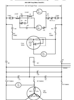 Have 15hp Baldor, want to make 3 phase converter