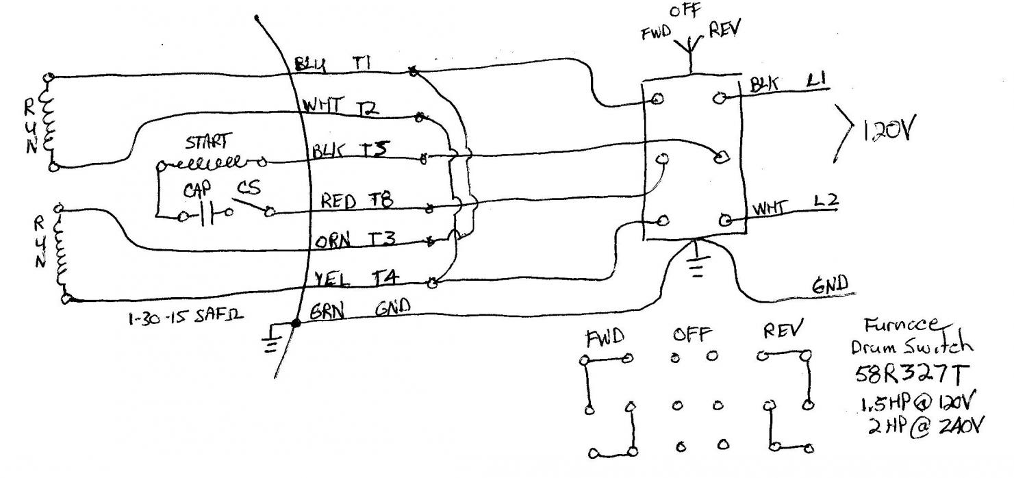 128897d1422676808 wiring single phase motor drum switch dualvoltrev120vfurtyp1?resize=665%2C313 leeson motors wiring diagrams wiring diagram and schematic leeson 5hp motor wiring diagram at edmiracle.co