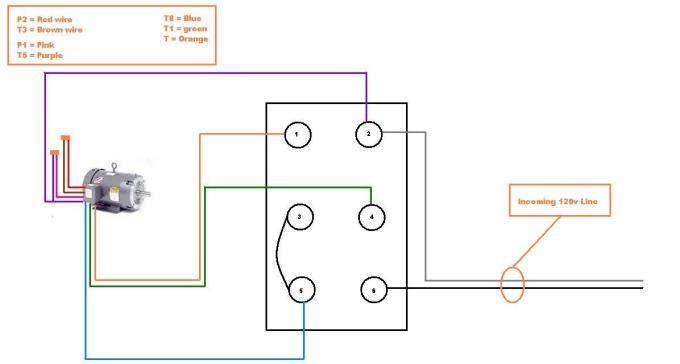 Rev Drum Switch Wiring Diagram 110v. 110v Motor Diagram, 220v Gfci ...