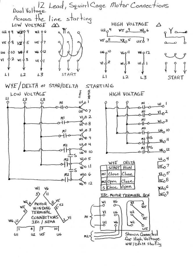wye delta motor control wiring diagram wiring diagram 3 phase wye delta wiring diagram and schematic design