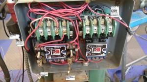 Wiring help needed for a 1phase 220v reversing puzzle
