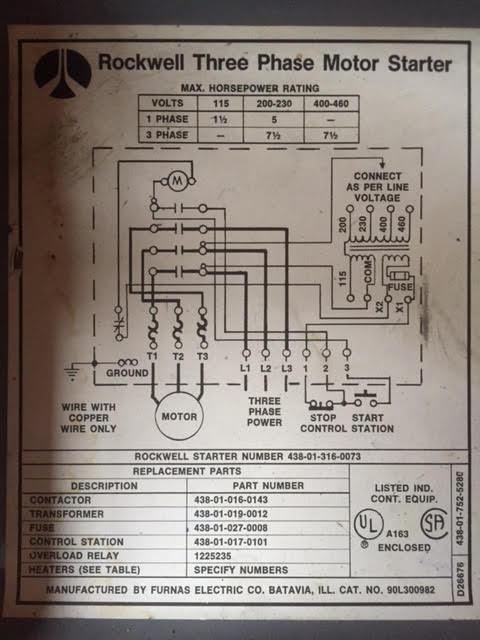 Vfd Bypass Motor Starter