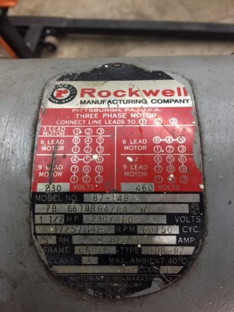 Rockwell Horz Vert Combo Mill