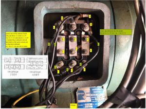 12 lead dual voltage Y(wyeStar) 460 or 230 Delta wiring