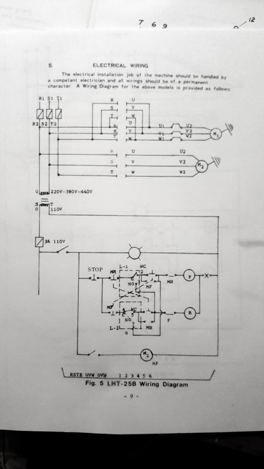 Hitachi Wj200 Vfd Controls On A Lht 25b Turret Lathe