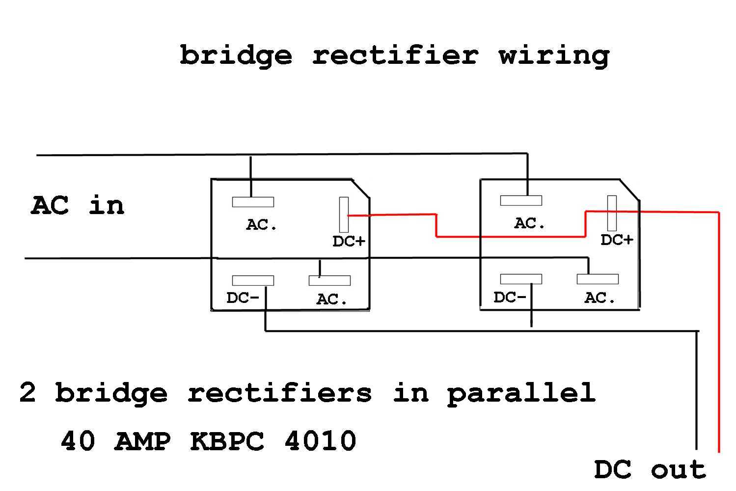 Bridge Rectifier Question