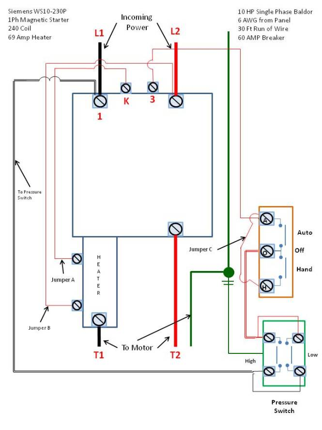 square d contactor wiring diagram The Wiring – Wiring Diagram Contactor