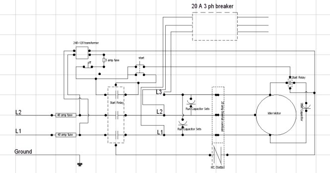 three phase rotary converter wiring diagram wiring diagram rotary phase converter