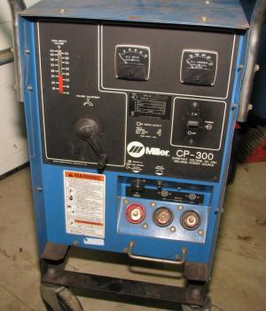 Successful Miller CP300 Welder HaasKamp Single Phase Conversion