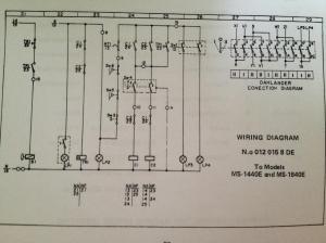 Nardini 1440e 440v to 220v conversion