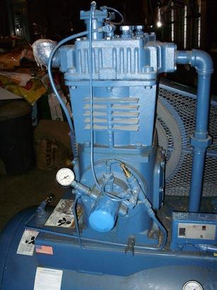 Fs Quincy 350 Compressor 10 Hp 220 3 60 Motor Starter