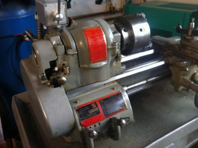 Southbend Heavy 10 Metal Lathe No Bed Wear