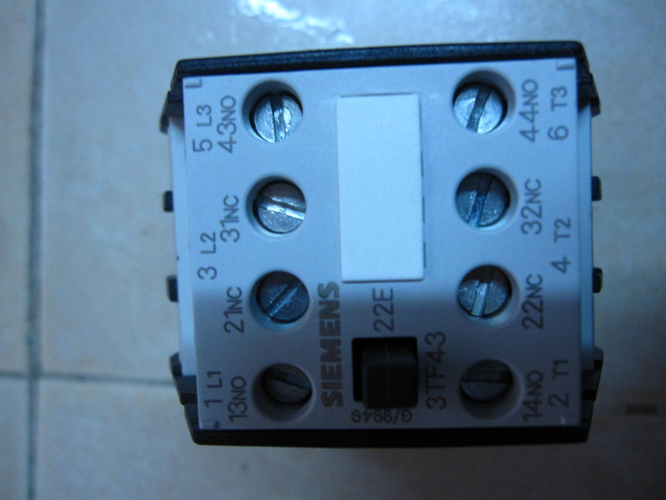 Wiring 3 Phase Contactor With Single Phase Input And Output