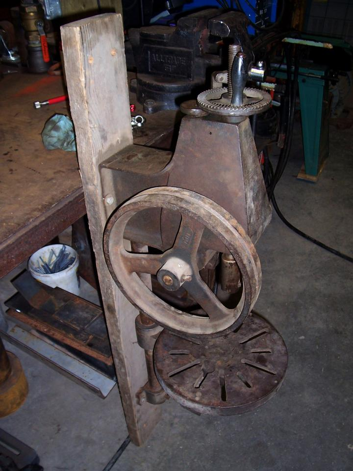 Id Antique Post Drill Pictures