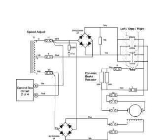 Hardinge HLVH Power feed rectifier unit