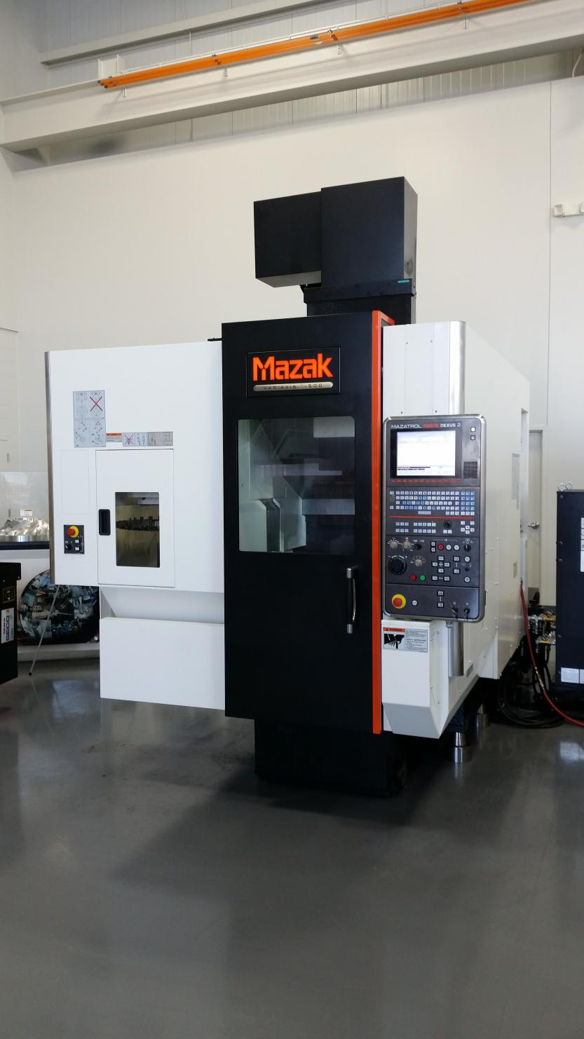 How Are The Mazak Variaxis Machines