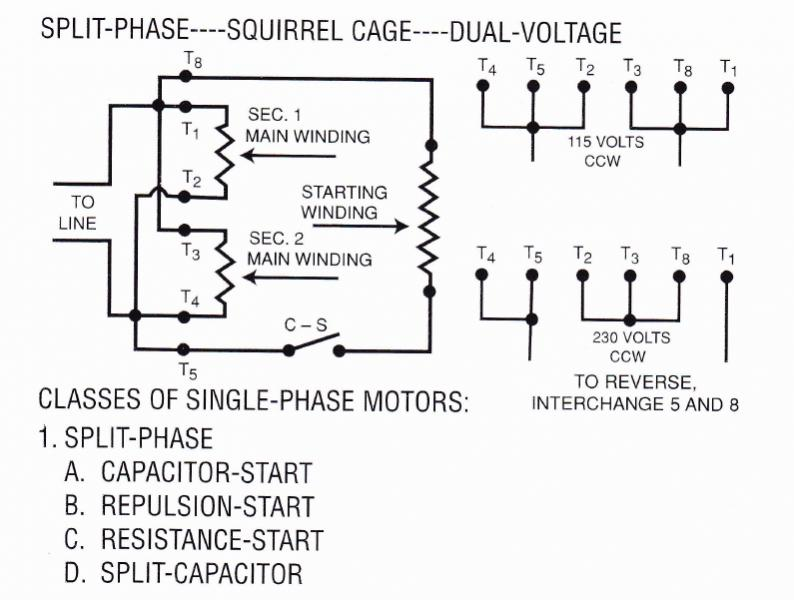 125696d1419892236 wiring issues pictures singlephasedualvoltreversiblemotor single phase dual voltage motor wiring diagram efcaviation com dual voltage motor wiring diagram at reclaimingppi.co