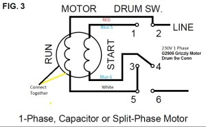 9A motordrum switch wiring help