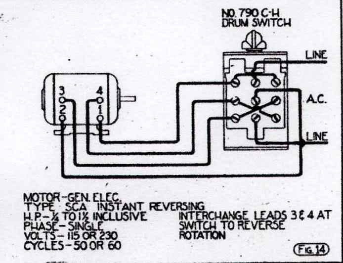 General Electric 115 230 Motor Wiring Diagram - Wiring Diagram