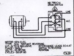 GE Motor>CutlerHammer switch wiring