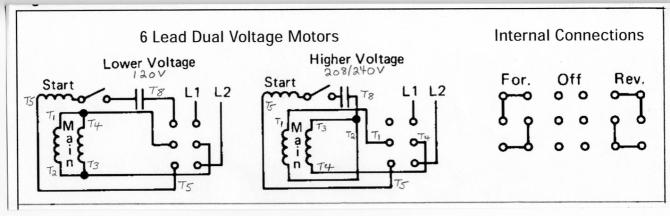 wiring diagram single phase motor 6 lead fuse box for acura