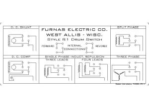 Help Wiring Furnas style drum switch to 9