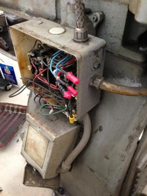 Century motor on south bend lathe