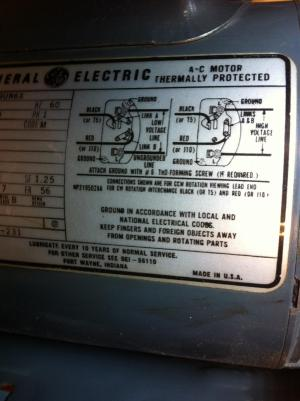 Wiring my Reversable switch problem