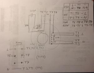 FS: Original motor for 10 Heavy 34 HP, Wiring diagram for