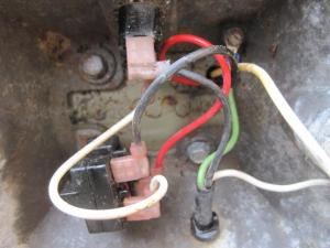 Seeking help with replacing relay in Baldor bench grinder with another brand