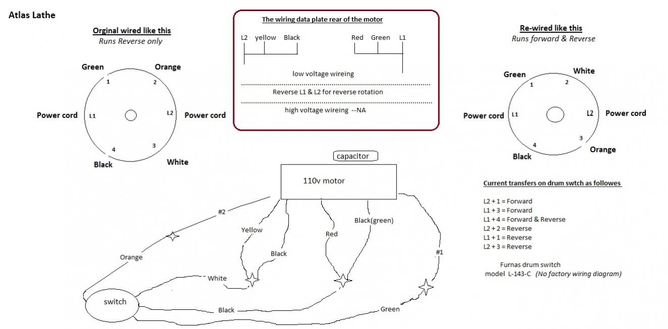 Contemporary Drum Switch Wiring Diagram Festooning - Electrical ...