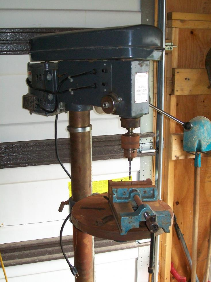 Help Attaching Drill Press Vice To Table