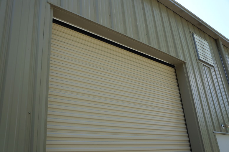 Shop Roll Up Doors What To Do About Gap At Top