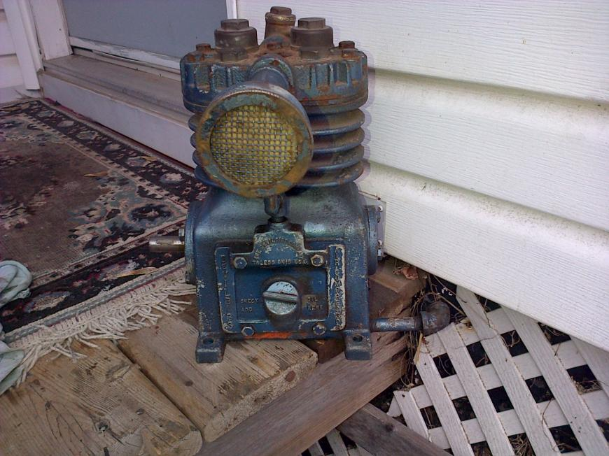 Old Air Compressors